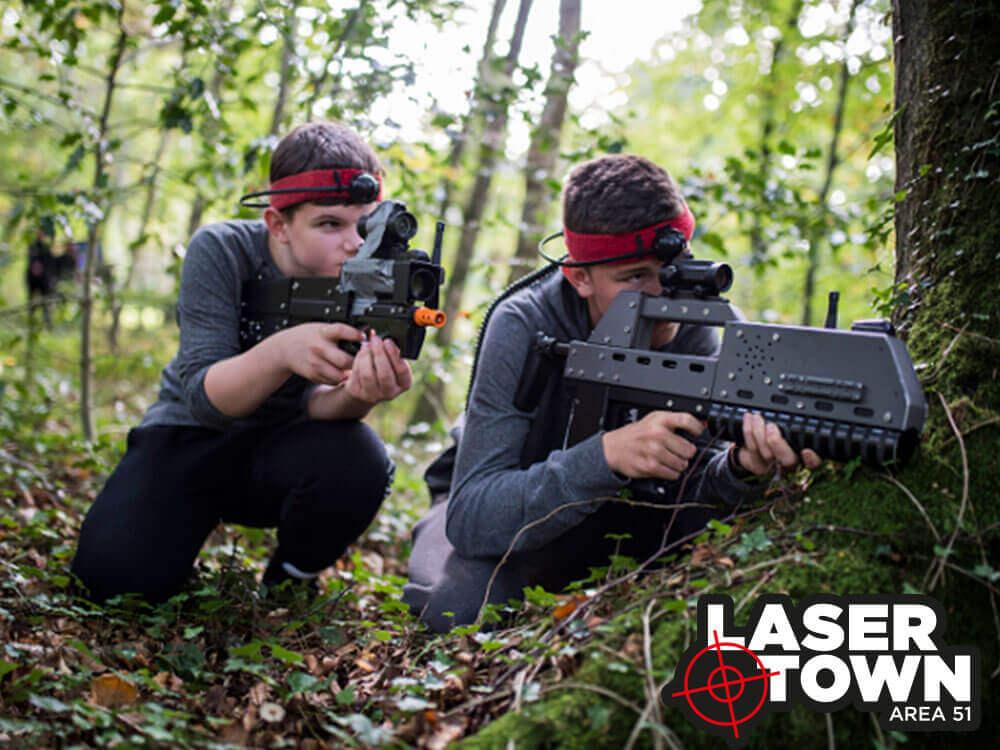Laser tag / Lasergame til børn