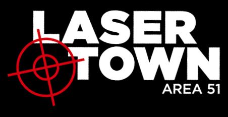 laser town logo