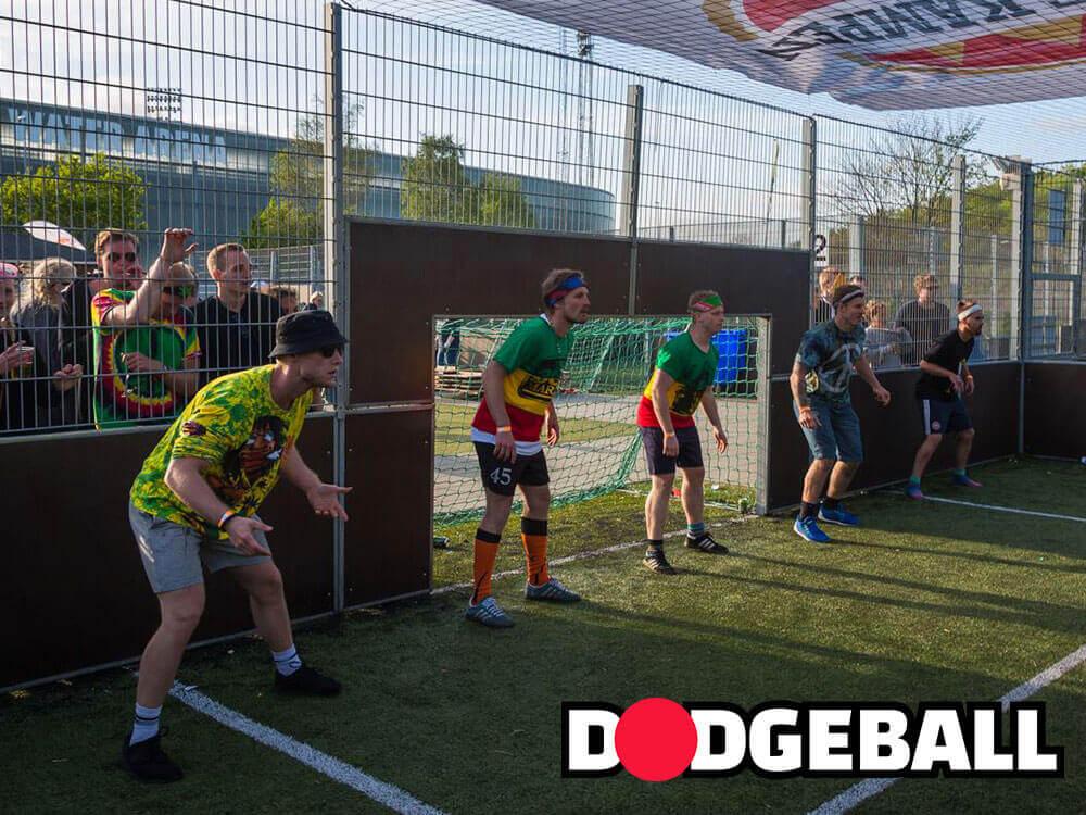 sjovt Teambuilding spil: dodgeball