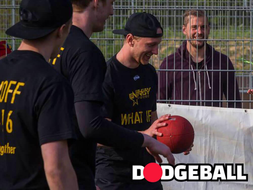 Teambuilding spil med arbejdet: dodgeball