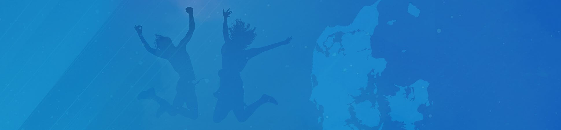blå mandag banner baggrund