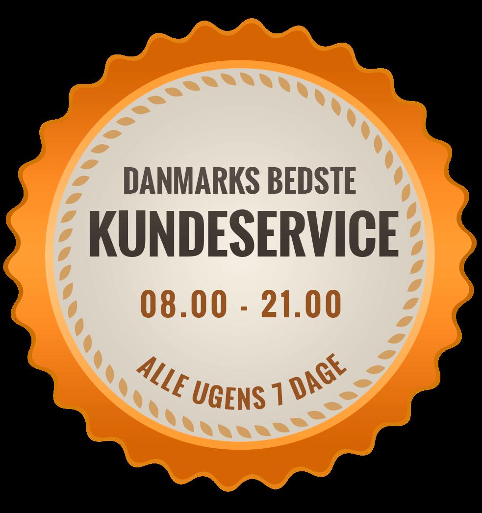 Danmarks bedste kundeservice