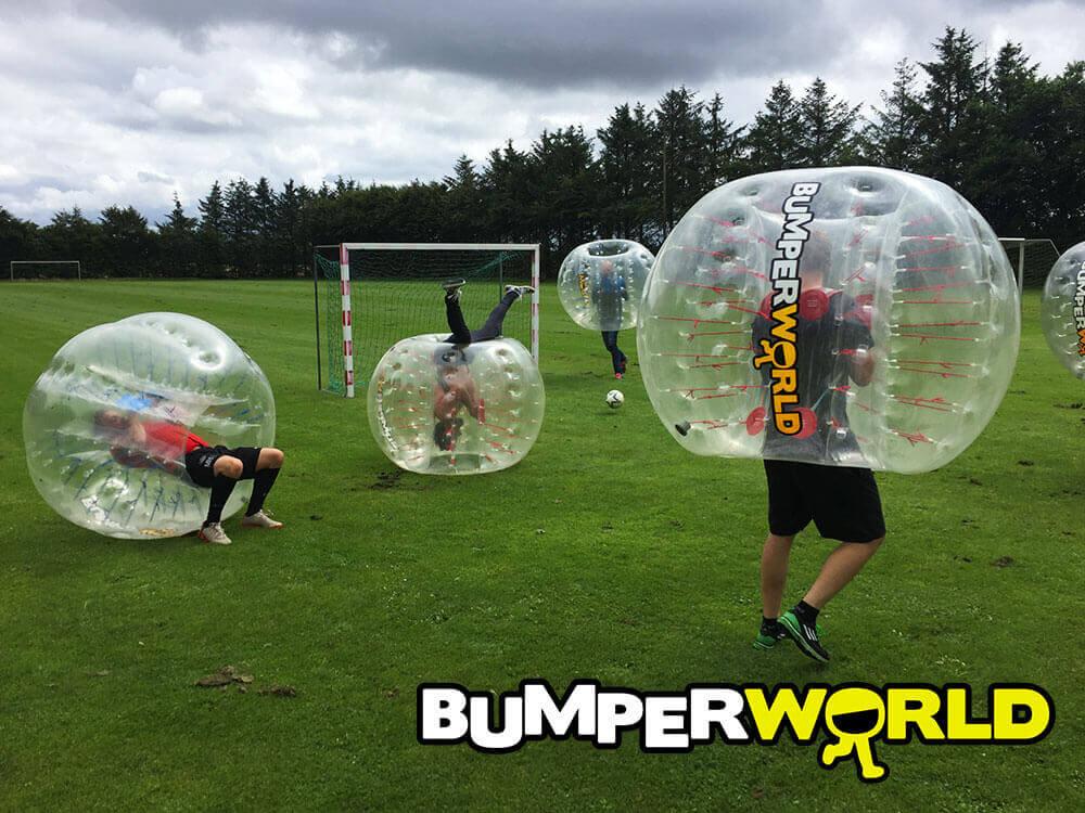 teambuilding med bumperballs