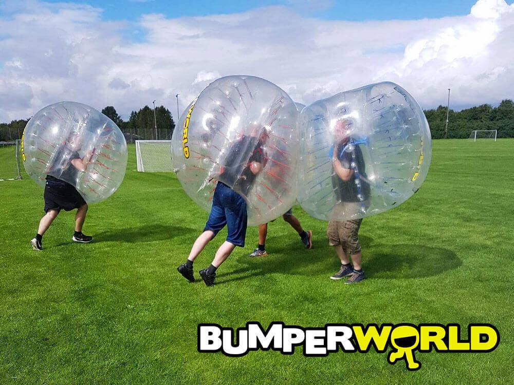 Bumperballs til afslutningsfest