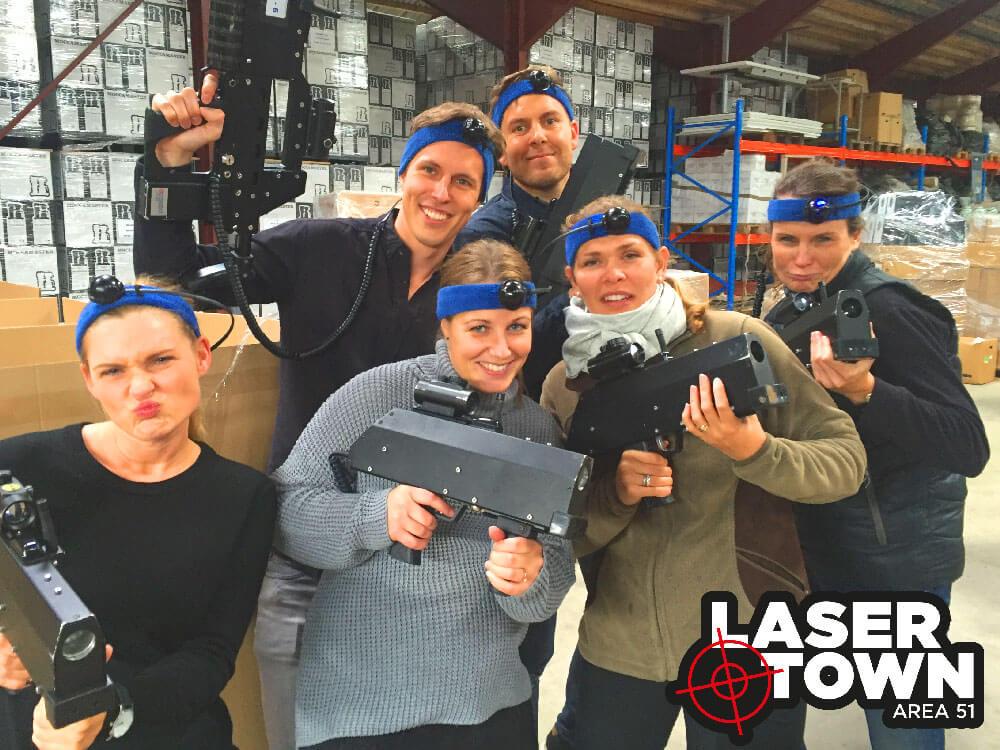 lasergame til firma