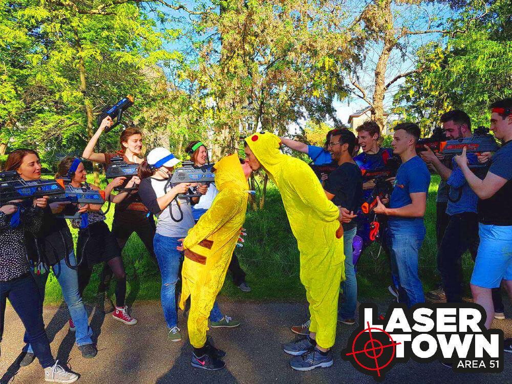 Polterabend lasergame