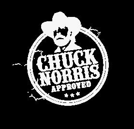 chuck norris lerdueskydning