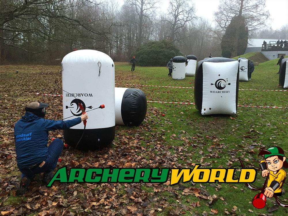 Spil archery tag / bowcombat til Blå mandag