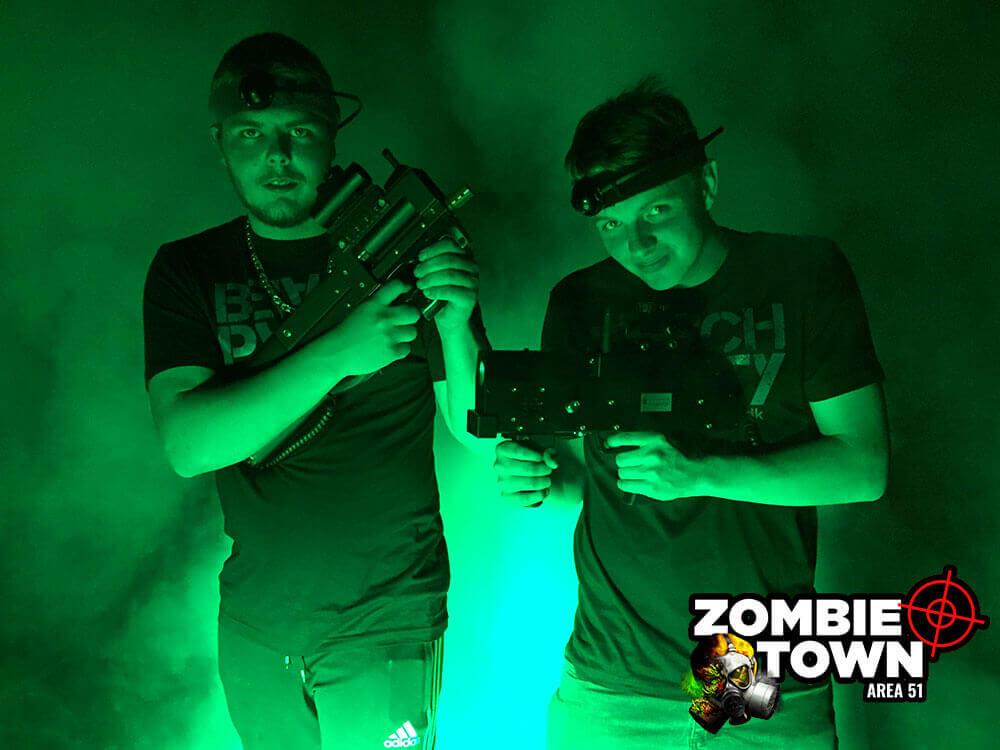 Lasergame - Zombie jagt