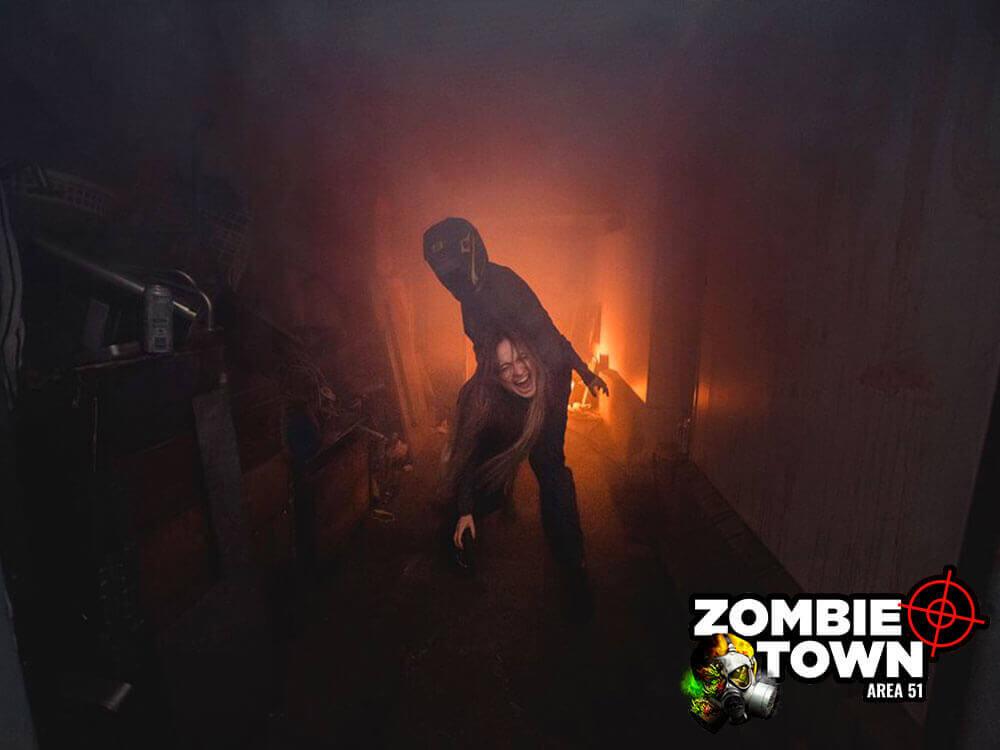 Zombies vs lasertag