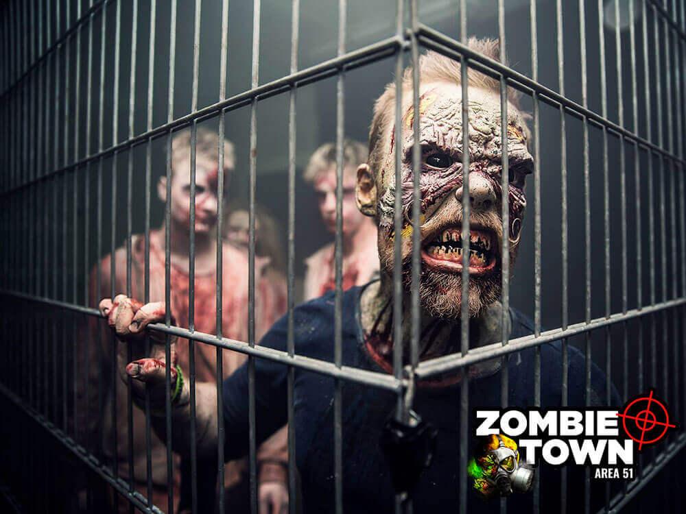 zombie vs lasertag