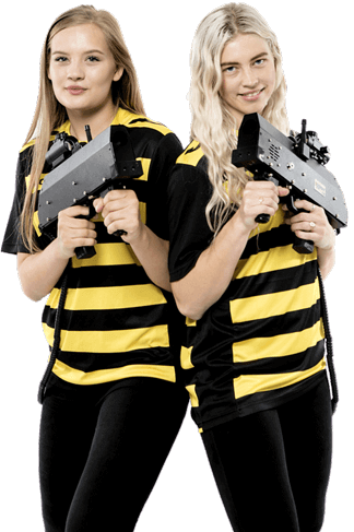 lasergame girls