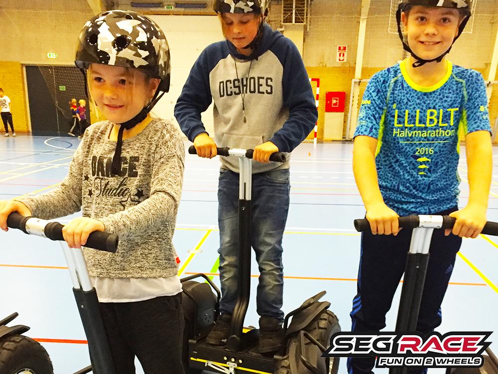 Seg-RACE indendørs børn