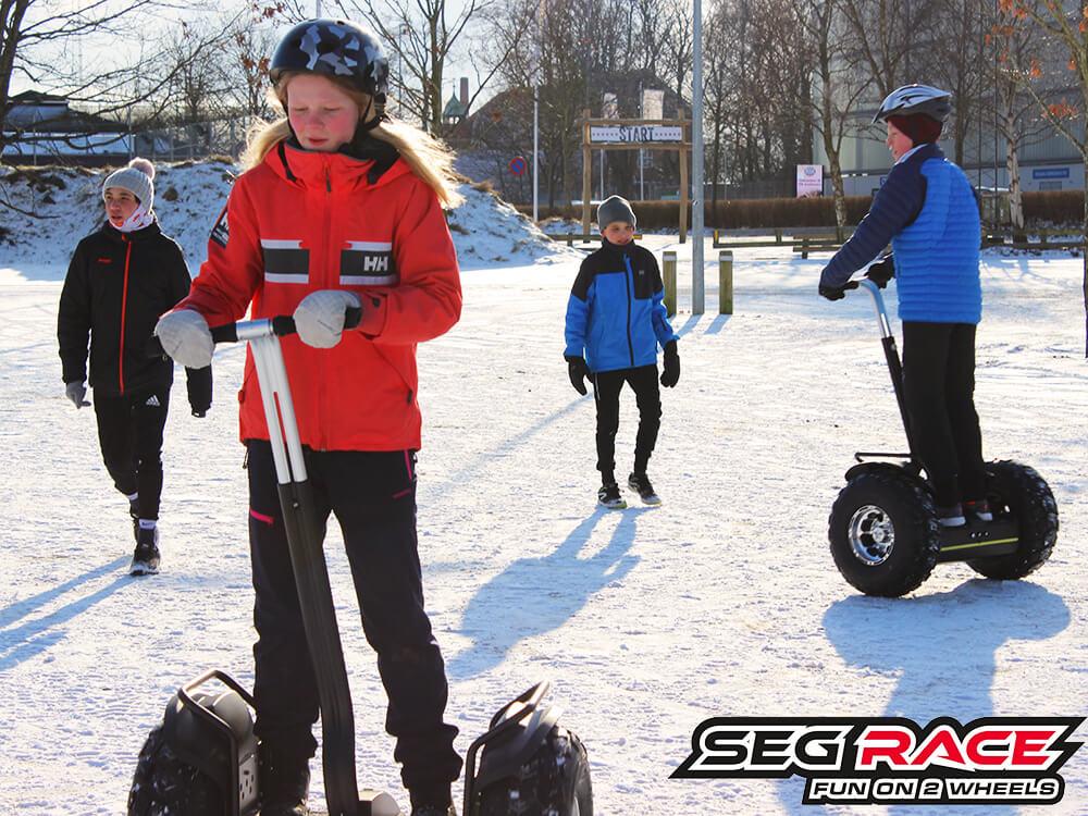 Seg-RACE ude sne og sjov